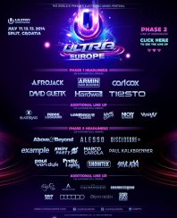 11-14.07.2014 Ultra Europe - Eventreise