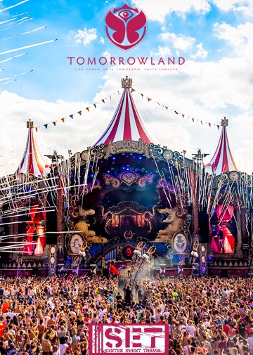 18 - 23.7.2018 Tomorrowland Eventreise