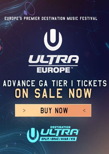 13 -17.07.2017 Ultra Europe - Eventreise