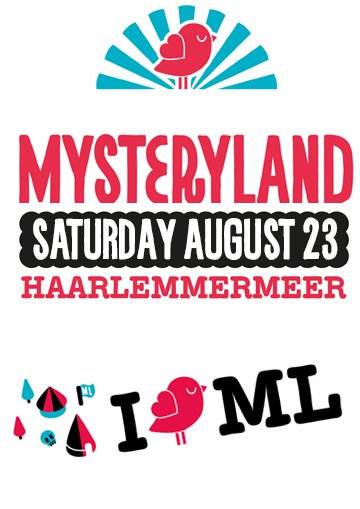 23.08.2014 Mysteryland (NL)  - Eventreise