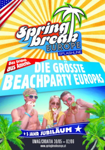 30.05 - 02.06.2013 - Spring Break Europe Umag, Kroatien Eventreise