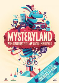 24.8.2013 Mysteryland Eventreise